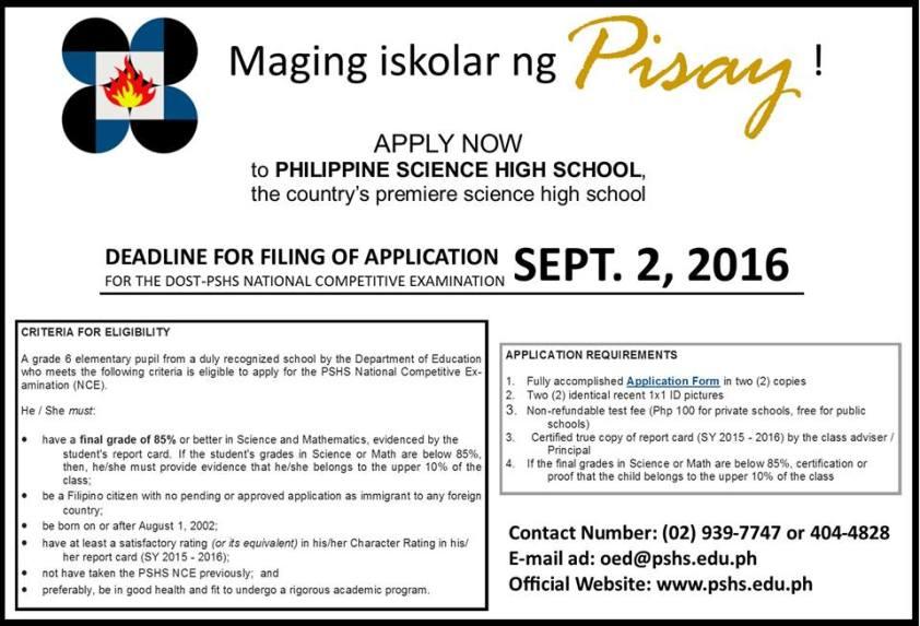 scholar ng pisay